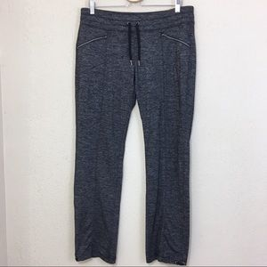 Athleta Quest Metro Slouch Jogger Pants Gray Large